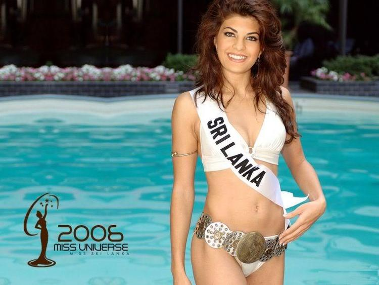 Jacqueline Fernandez Swimsuit Dress Wallpaper