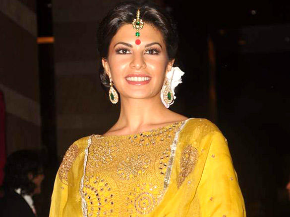 Jacqueline Fernandez at Riteish and Genelia's reception