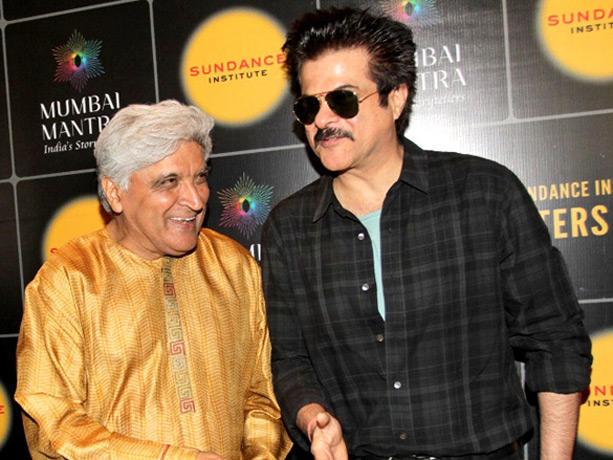 Javed Akhtar at Mumbai Mantra Sundance Institute Screenwriters Lab