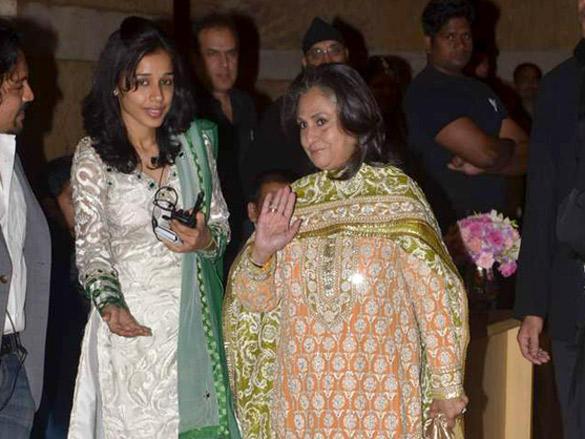 Jaya Bachchan at at Honey Honey Bhagnani's sangeet ceremony