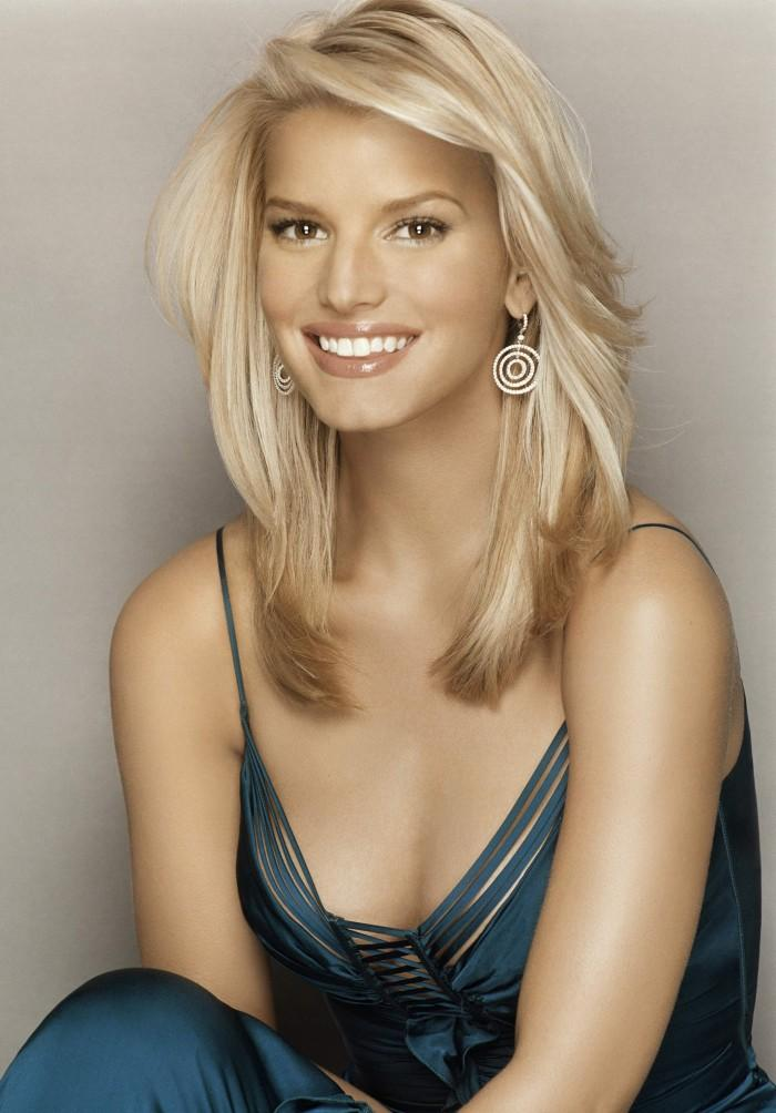 Jessica Simpson Beautiful Smile Awesome Sizzling Face Still