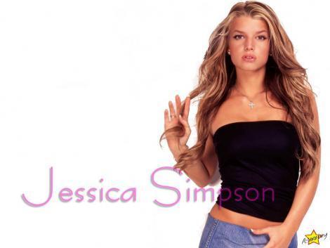 Jessica Simpson Glamourous Wallpaper