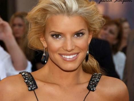 Jessica Simpson Gorgeous Smile Wallpaper