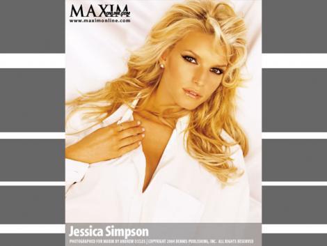 Jessica Simpson Maxim Still