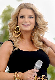 Jessica Simpson Nice Hair Style Pic