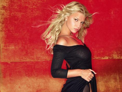 Jessica Simpson Spicy Look Wallpaper