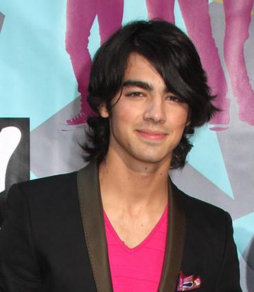 Joe Jonas Long Hair Cute Sweet Smile Pic