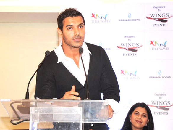 John Abraham Launches Bubble Of Time Book