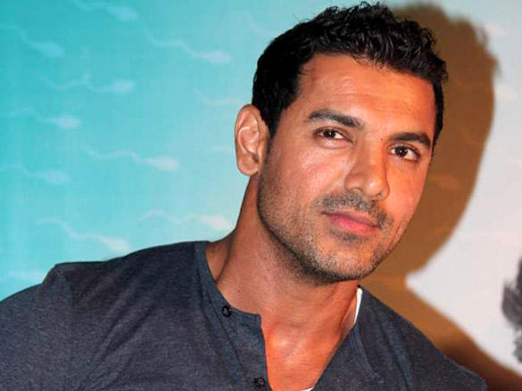 John Abraham at The Launch of His 1st Production Vicky Donor