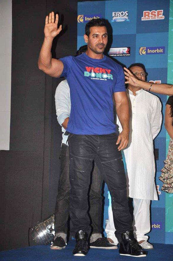 John Abraham at Vicky Donor Music Launch