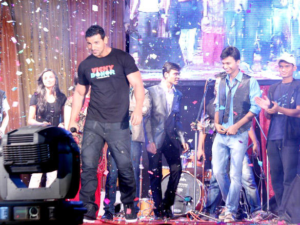 John Abraham at Vicky Donor Promotional Event