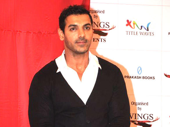 John Abraham graces the book launch of in a Bubble Of Time