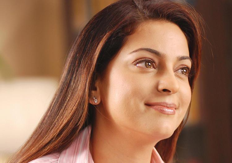 Juhi Chawla Silky Hair Beauty Still