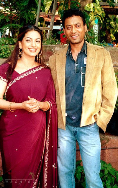 Juhi Chawla and Irfan Khan Gorgeous pic