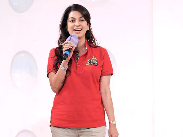 Juhi Chawla wants pink to be the Kolkata Knight Riders colour