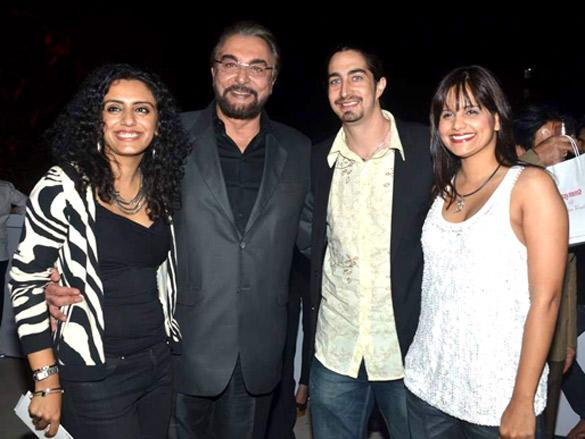 Kabir Bedi,Parveen Dusanj with other celebs