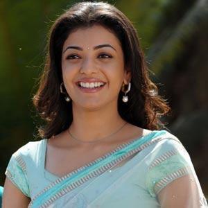 Kajal Agarwal Beautiful Smile Stunning Picture