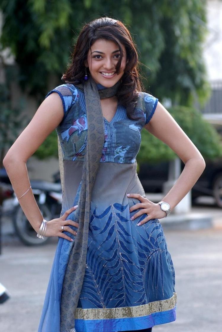 Kajal Agarwal Beauty Smile Sexy Pose Photo Shoot