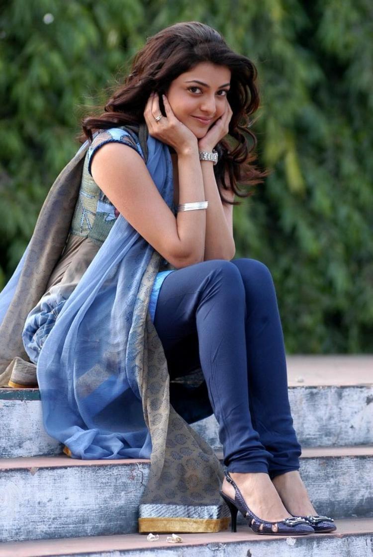 Kajal Agarwal Cute Expose Photo