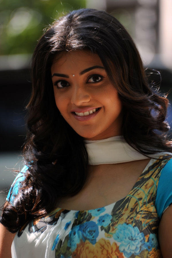 Kajal Agarwal Cute Face Still