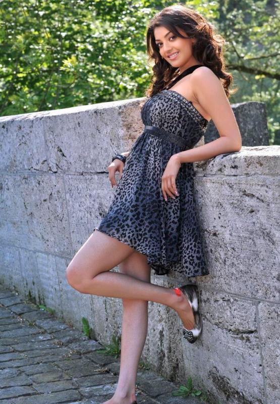 Kajal Agarwal Mini Dress Sizzling Still