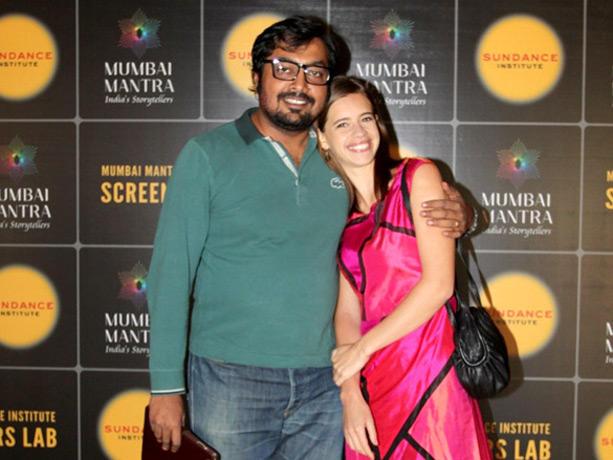 Kalki,Anurag Kashyap Poses To Photo Shoot