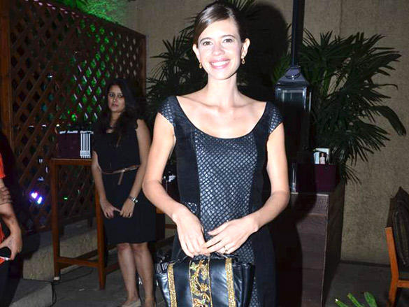 Kalki Koechlin Formal hair style at the Launch of Hidesign's Luxury Collection