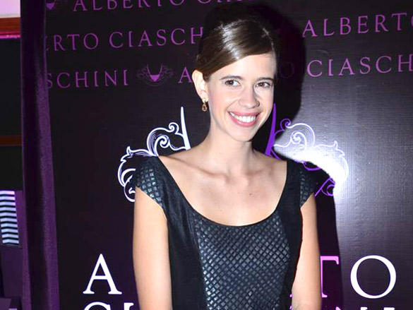 Kalki Koechlin at the Launch of Hidesign's Luxury Collection