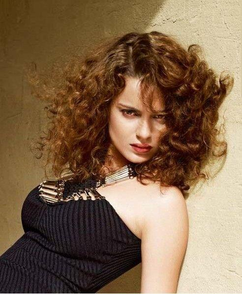 Kangana Ranaut Brown Hair Cute Hot Still