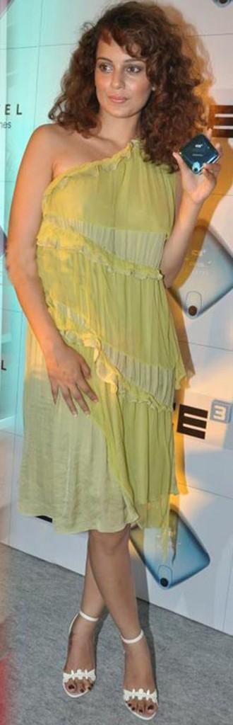 Kangana Ranaut Cute Dress Pic