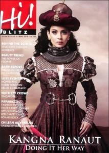 Kangana Ranaut Hi Magazine Still