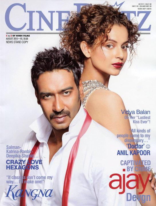 Kangana Ranaut In Cineblitz Magazine