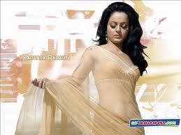 Kangana Ranaut One And Only Movie Saree Pic