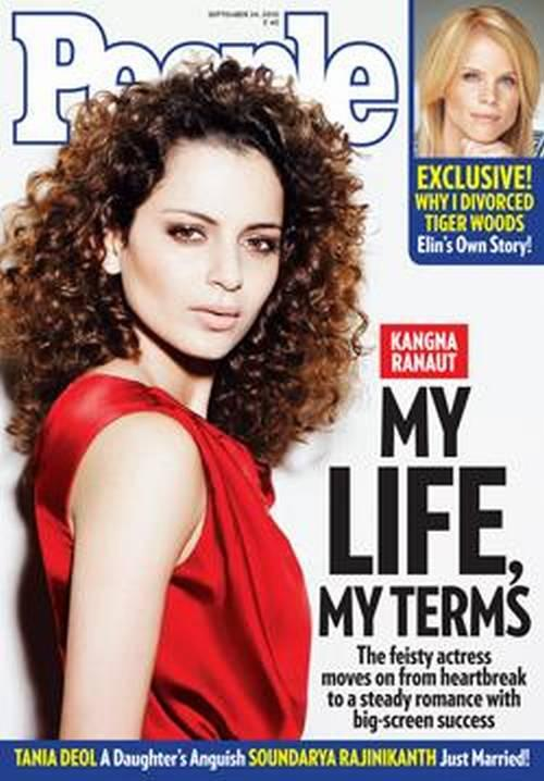 Kangana Ranaut People India Magazine Still