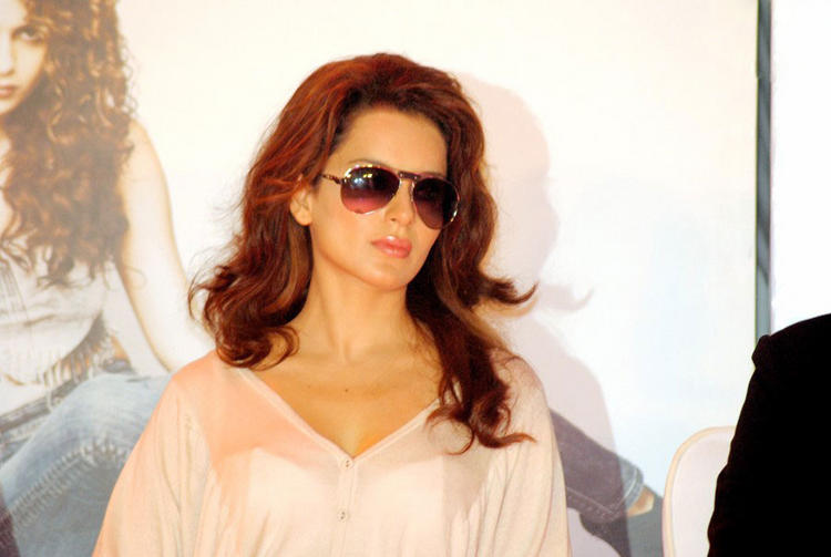 Kangana Ranaut Red Hair Hot Still