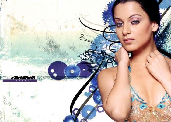 Kangana Ranaut Sexy Face Wallpaper Pic