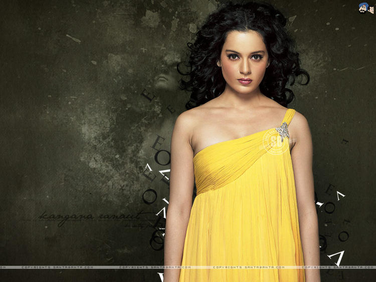 Kangana Ranaut Super Hot Wallpaper Pic