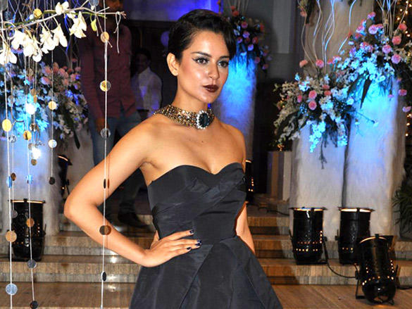 Kangna Ranaut at Sunaina Roshan's birthday party