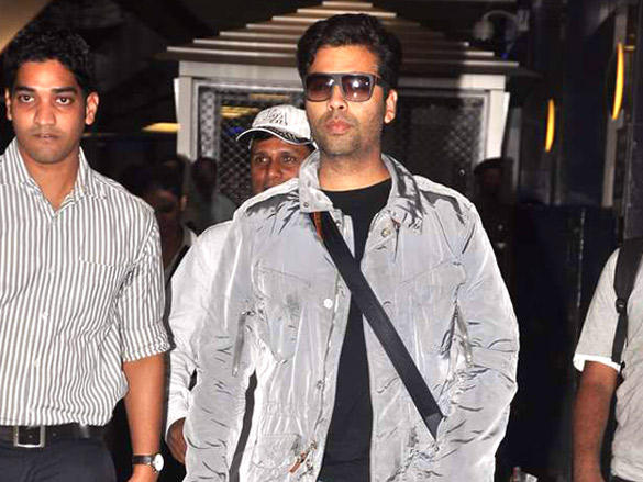 Karan Johar Returning From Dubai
