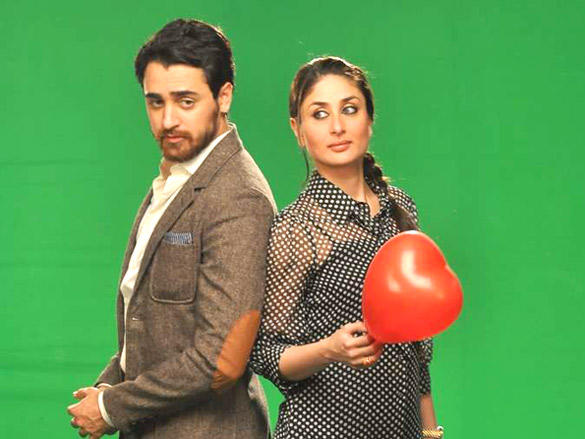 Kareena,Imran promotes Ek Main Aur Ekk Tu at Bheegi Billi of 9X Music