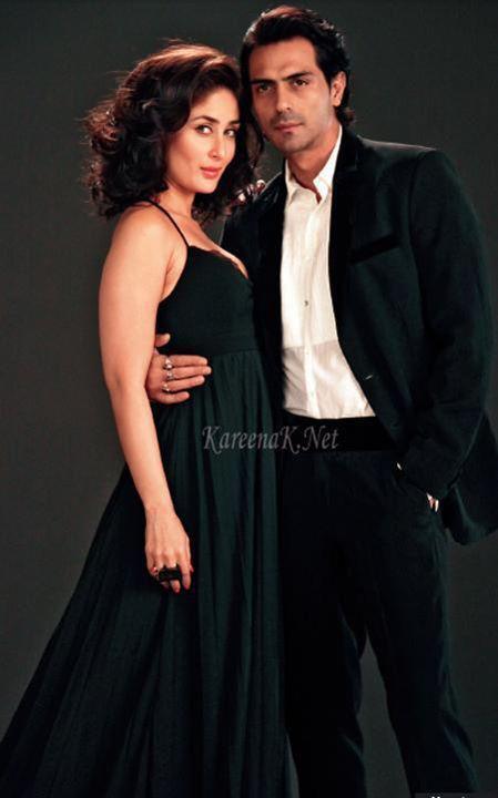 Kareena Kapoor,Arjun Rampal Sexy Still On The Sets of Heroine
