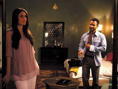 Kareena Kapoor,Saif Ali Khan In Agent Vinod