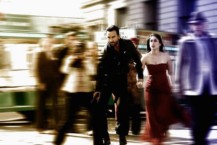 Kareena Kapoor,Saif Ali Khan Latest Pic In Agent Vinod