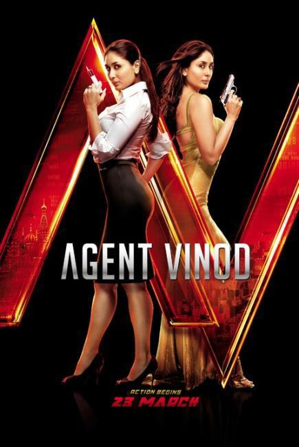 Kareena Kapoor Agent Vinod Movie Poster