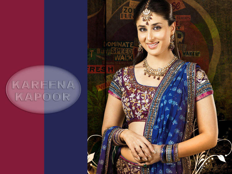 Kareena Kapoor Beauty Smile Wallpaper