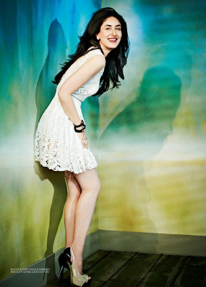 Kareena Kapoor Cute Photo Shoot For Filmfare India April 2012