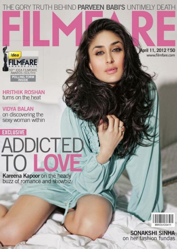 Kareena Kapoor Filmfare India April 2012