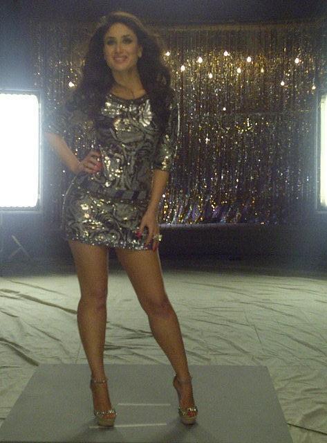 Kareena Kapoor Mini Dress Hot Still