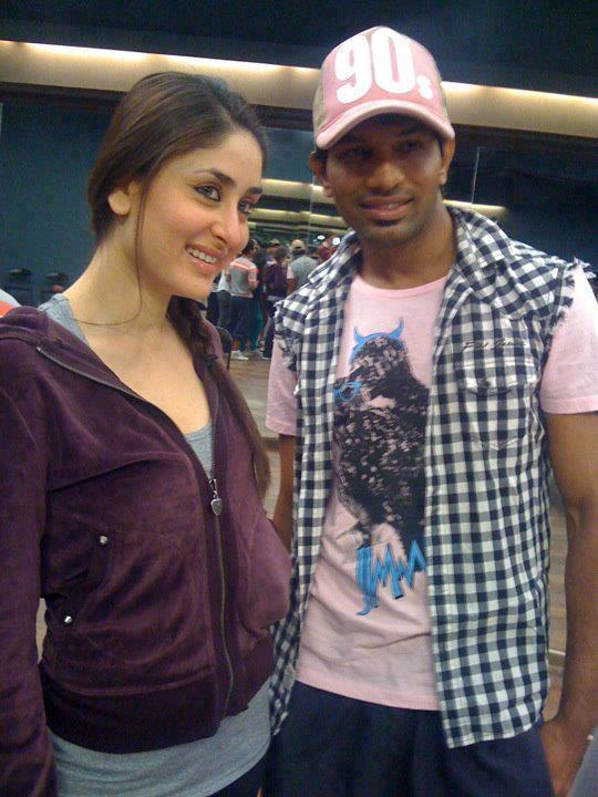 Kareena Kapoor Pose On The Sets of Heroine
