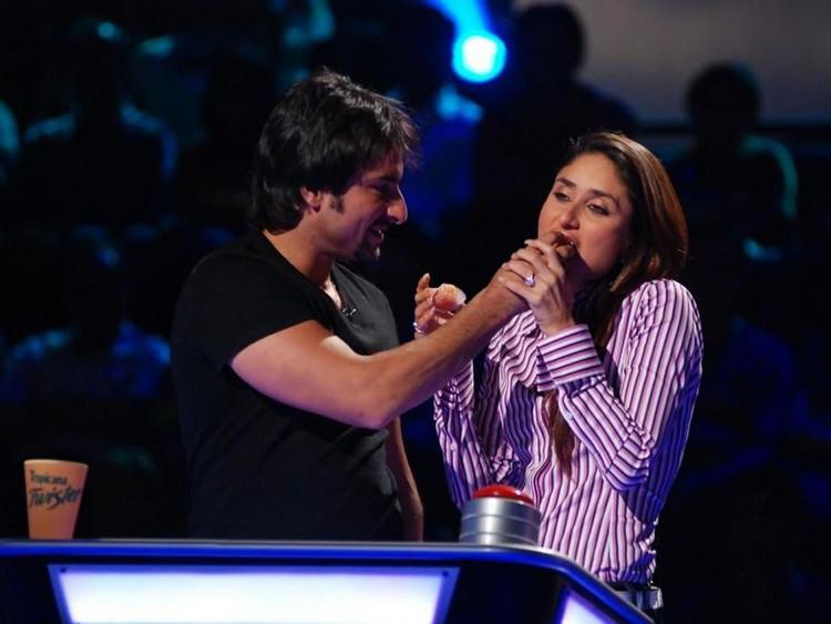 Kareena Kapoor and Saif Ali Khan Cute Still